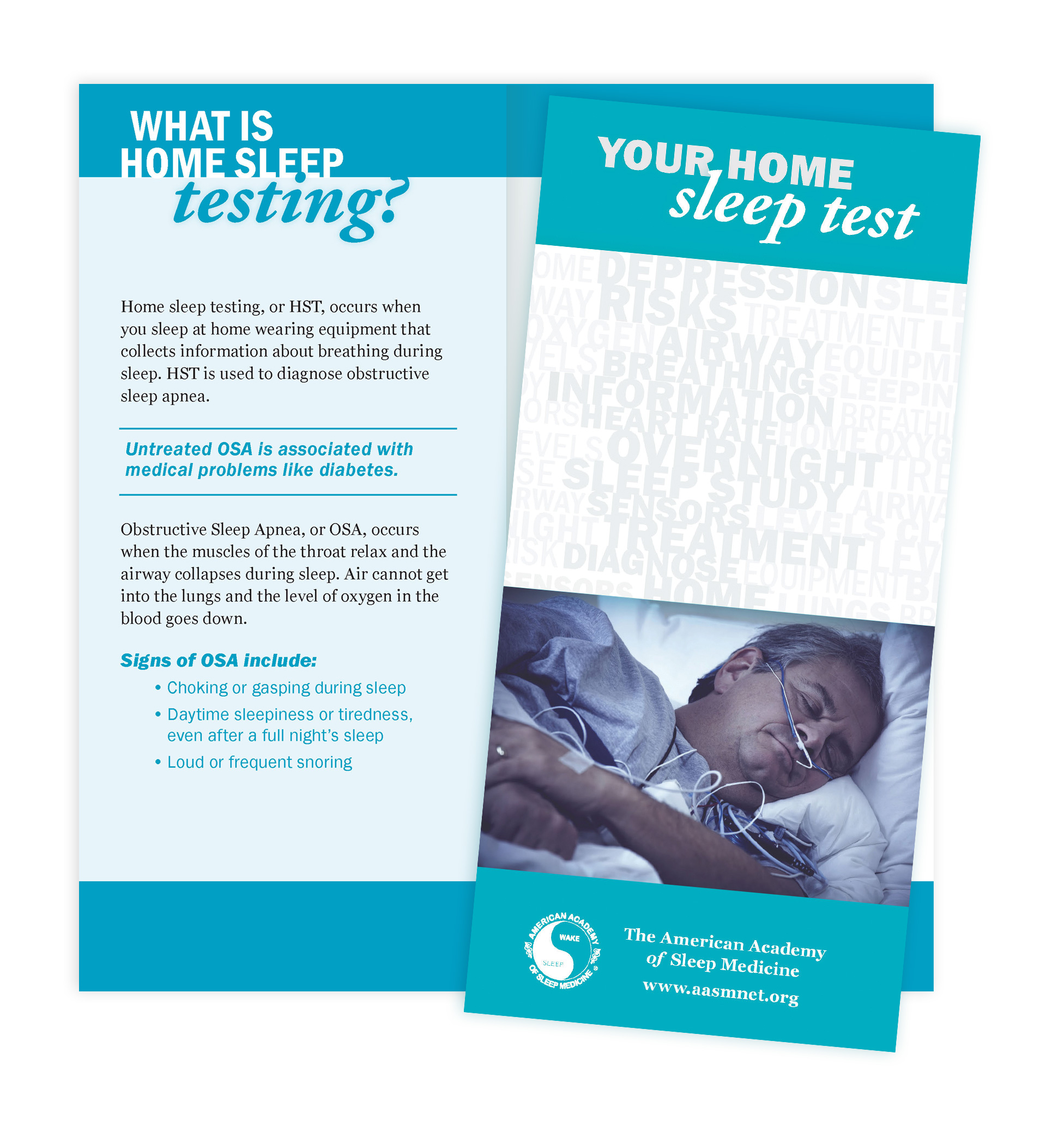 Your Home Sleep Test Patient Education Brochures (50 brochures)