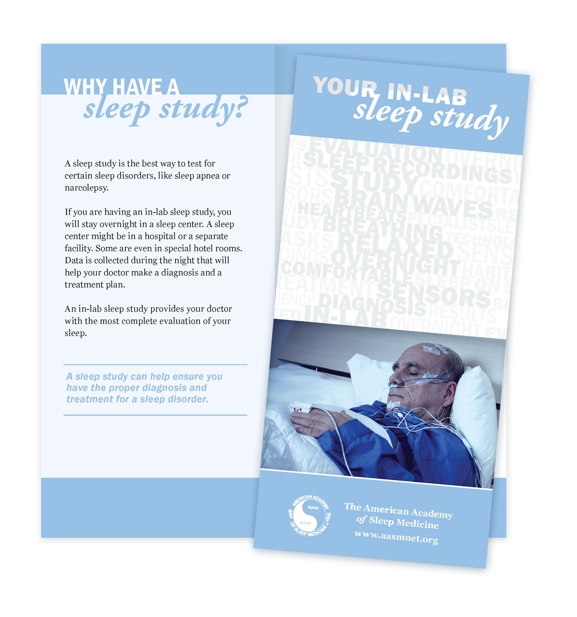 Your In-Lab Sleep Study Patient Education Brochures (50 brochures)