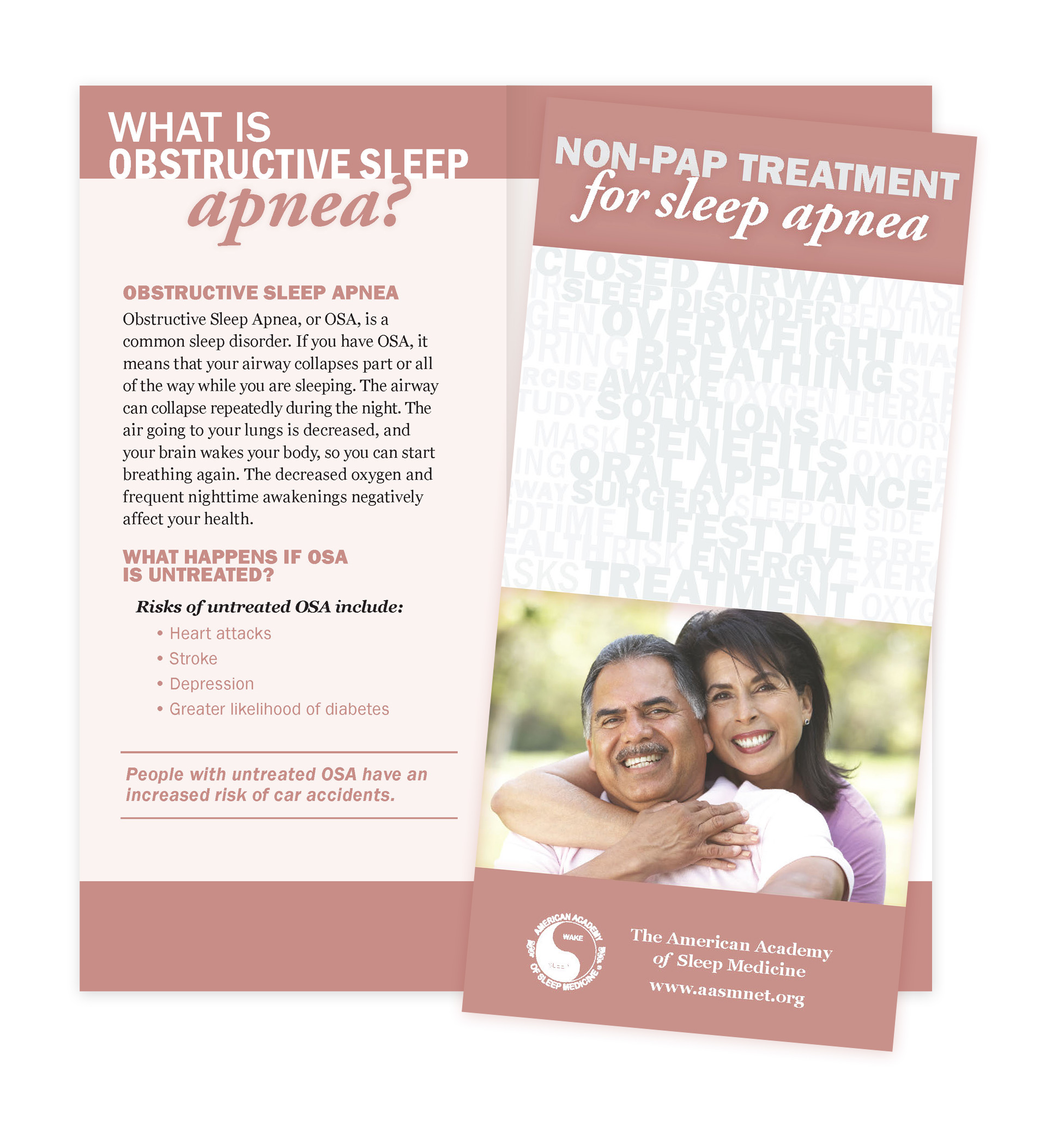 Non-PAP Treatment for Sleep Apnea Patient Education Brochures (50 brochures)