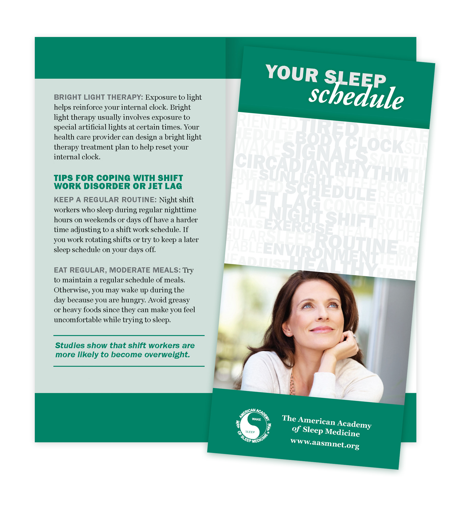 Your Sleep Schedule Patient Education Brochures (50 brochures)