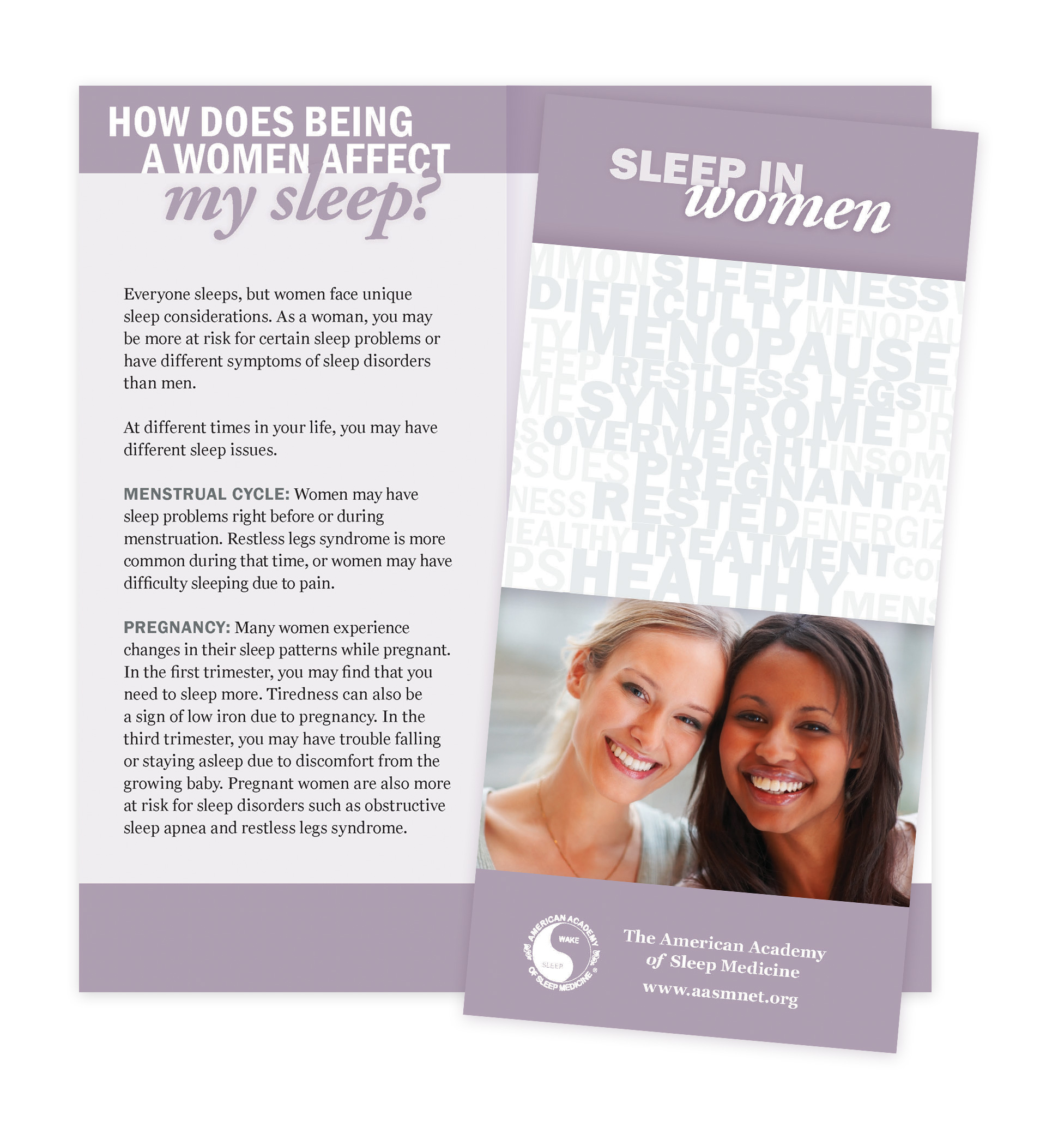 Sleep in Women Patient Education Brochures (50 brochures)